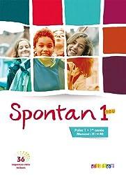 Spontan neu 1 - palier 1 - 1re année - Manuel + DVD