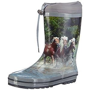 Beck Pferde, Botas de Agua para Niñas