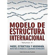 Modelo de estructura internacional (Poder, estructura y hegemonía. Pautas para el estudio de la gobernanza internacional nº 2)