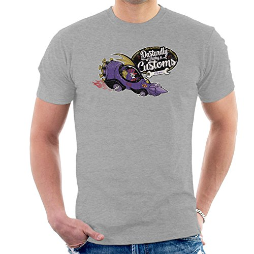 Dastardly Wacky Customs Wacky Races Men's T-Shirt