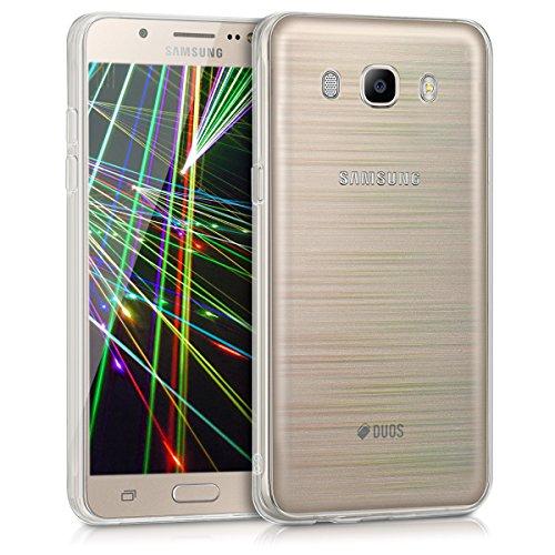 kwmobile Samsung Galaxy J5 (2016) DUOS Hülle - Handyhülle für Samsung Galaxy J5 (2016) DUOS - Handy Case in Mehrfarbig Transparent