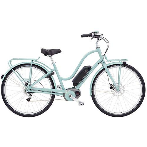 e bike damen retro Electra Townie Commute Go Damen Elektro Fahrrad 28 Zoll Beach Cruiser Retro Rad 8 Gang Schaltung, 5460, Farbe Blau