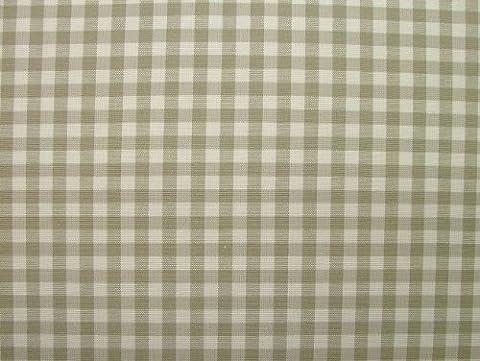 Shabby Chic Linen Woven Gingham Check Cotton Designer Fabric -
