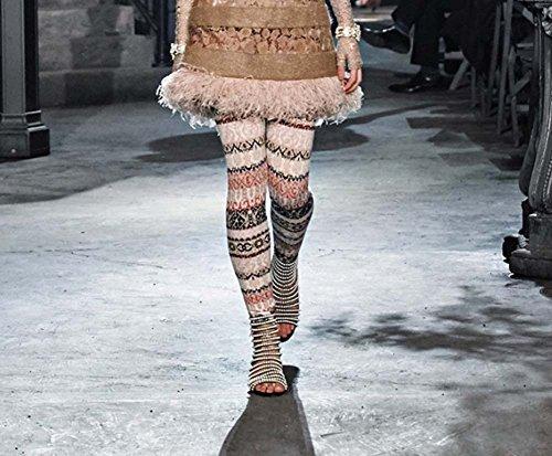 L&Y Stivali a punta aperta delle donne Sandali a basso tacco Stivali in rilievo Handmade Charming Nero Grandi dimensioni 34-42 Nero