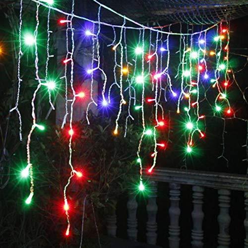 120 Led Lichterkette Zeichenfolge Kreative Wasserdichte Hängende Lichterkette Im Freien Bunt Garten Party Lichterkette Weihnachtsbeleuchtung Für Weihnachten Hochzeit Weihnachtsbaum