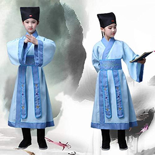 GUAN Hanfu Kinderkostüme, alte Kostüme Kinderbuch, Kostüme für Jungen (Kinderbuch Kostüm)
