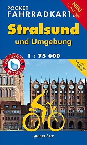 Pocket-Fahrradkarte Stralsund und Umgebung: Maßstab 1:75.000. Wasser- und reißfest. (Fahrradkarten)