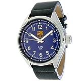 RADIANT Reloj analógico de caballero F.C.BARCELONA - Correa de piel - Azul - BA-12602 Pilot