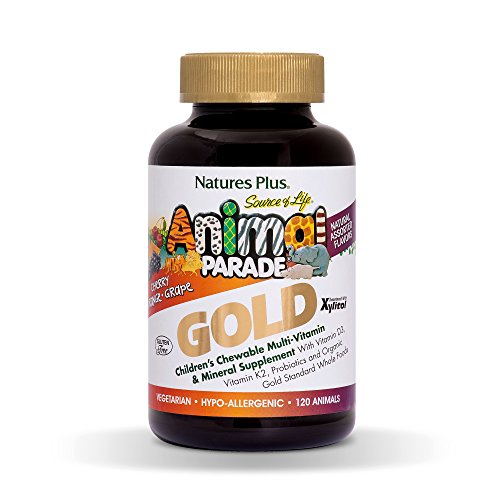 Animal Parade Gold Multivitamin 120 Lutschtabletten Fruchtmix (Natures Plus Chewable Vitamin E)