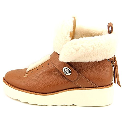 Coach Urban Hiker Cuir Botte Saddle-Natural