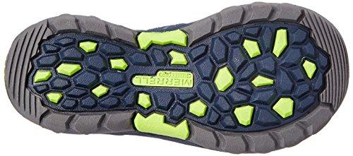 Merrell - Hydro Hiker, sandali  per bambini e ragazzi Blu (Blau (Navy Green))