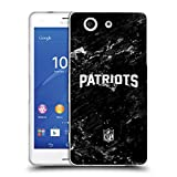 Head Case Designs Offizielle NFL Marmor 2017/18 New England Patriots Soft Gel Hülle für Sony Xperia Z3 Compact/D5803
