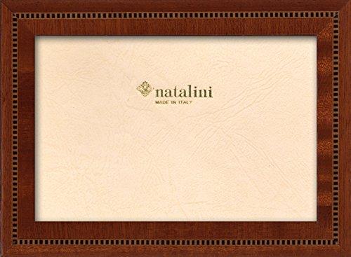 Klassische Mahagoni-finish (Natalini ANNIVERSARIO Mogano 10X15 Bilderrahmen mit Unterstützung für Tisch, Tulipwood, Mahagoni, 10 X 15 X 1,5)