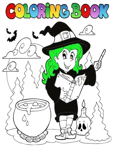 Coloring Book: Halloween Coloring