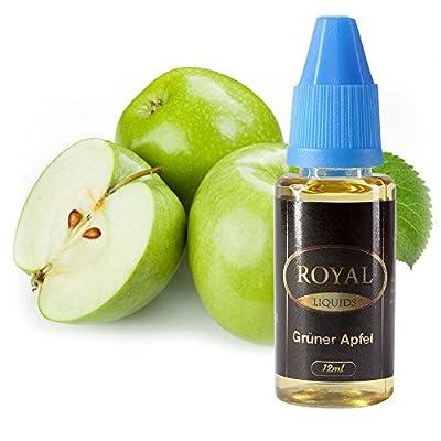 E-Liquid Grüner Apfel ohne Nikotin für E-Zigarette 12ml Inhalt von Royal Liquids