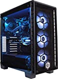 CyberpowerPC Centurion R7-2070 Gaming PC - AMD Ryzen 7 2700X, Nvidia RTX 2070 8GB, B450 Chipset, 16B RAM, 240GB SSD, 2TB HDD, Liquid Cooling, 600W 80+ PSU, WiFi, Windows 10, Corsair 460X