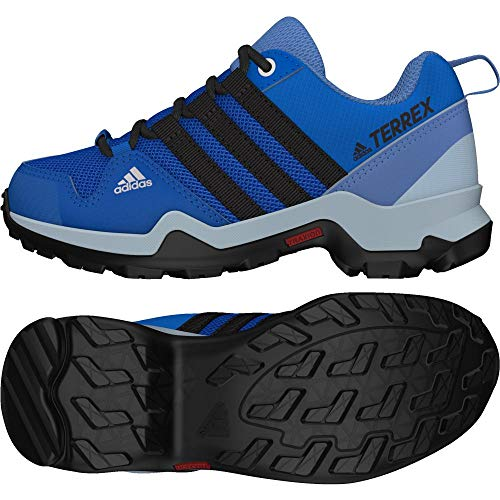 adidas Unisex-Kinder Terrex AX2R CP Outdoorschuh Laufschuhe, blau/schwarz, 36 EU