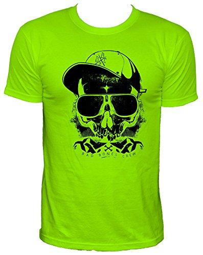 NEON Thug Party Herren T-Shirt,neongrün,M