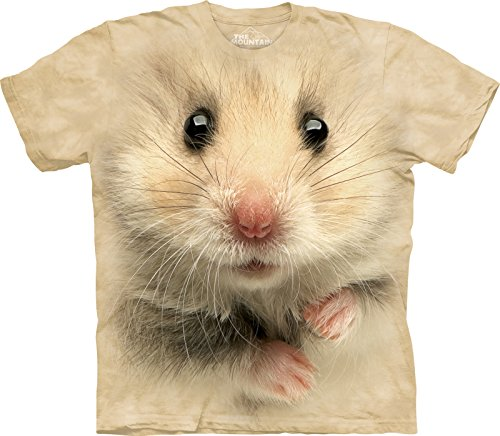 The Mountain Maglietta Hamster Face Pet Bambino Unisex M