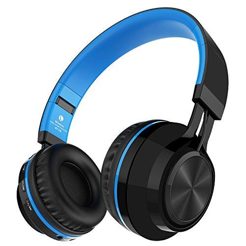 Alihen BT-06 Swift Auriculares Estéreo Inalámbricos con Bluetooth 4.0, Micrófono y Control de Volumen + Cable de Audio. Compatible con la mayoría de Teléfonos / iPhone / Samsung / PC / Tv / Laptop