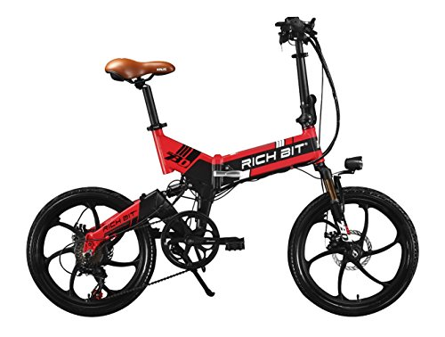 Rich Bit RT 730 bicicleta eléctrica bicicleta plegable Ciclismo 250 W *...