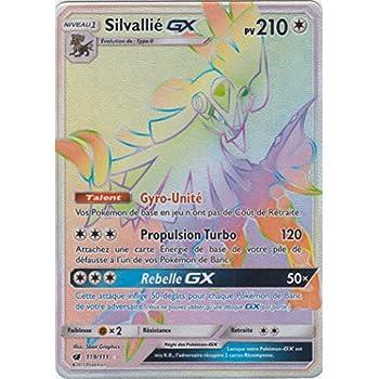 Carte Pokemon 119 111 Silvallie Gx Cartes A Collectionner