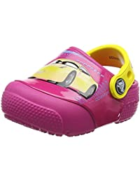 crocs Unisex-Kinder Fun Lab Lights Cars 3 Clog