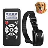 EXPERSOL Deluxe Fernbedienung Dog Training Halsband. Sehr, Advanced Training bis zu 800 m, automatische ohne Rinde Modus. Humane & Safe Vibration