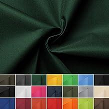 Carry - Lona impermeable - 100% poliéster - Por metro - 21 colores (verde oscuro)