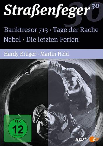 Straßenfeger 30: Tage der Rache/Nebel/Der Vorgang/Die letzten Ferien (4 DVDs)