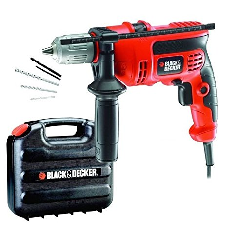 BLACK&DECKER CD714CRESKD - TALADRO PERCUTOR (710 W  230 V)