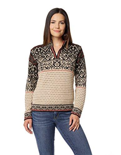 Peruanische Alpaka-pullover (Invisible World Damen 100% Alpaka Skandinavischer Pullover: Pullover Maxine - L)