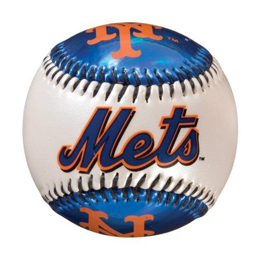 Franklin Sports MLB-Mannschaft Baseball, Damen Unisex Mädchen Herren Jungen, Mehrfarbig (New York Mets)