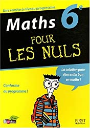 Maths 6e pour les nuls