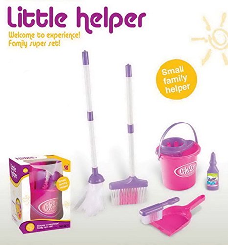 cleaning-toy-set-mop-broom-brush-bucket-cloth-washing-liquid-dustpan-pretend-play-toy-for-children