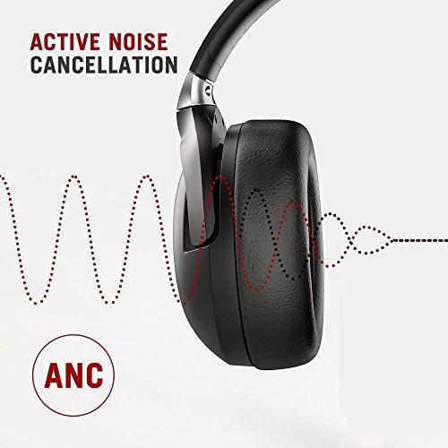 TaoTronics Active Noise Cancelling Kopfhörer aptX Bluetooth Kopfhörer ANC 22 Stunden Wiedergabezeit, aptX Audio in CD-Qualität, Geräuschunterdrückende kabellose Kopfhörer mit CVC 6.0 Mikro - 8