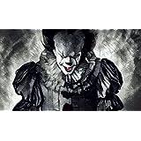 ES, Stephen King, Thomas Kadlubek, Art, Clown, Pennywise, Kunstdruck
