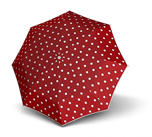 knirps-t100-small-duomatic-dot-art-red
