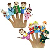 TWISHA Eva Finger Puppet Men (Multicolour)