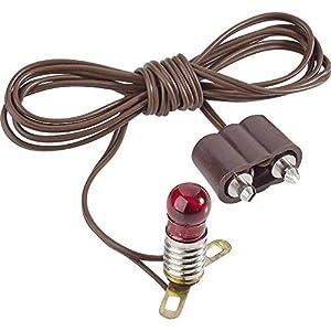 Kahlert Licht 60602 - Accesorios para minimuñecas, Color marrón y Rojo