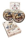 Goo–Set da pezzi Pomata + Poker Blatt # duro–Pomata From Rum ble59