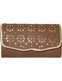 Kuero Women's Clutch (Brown)