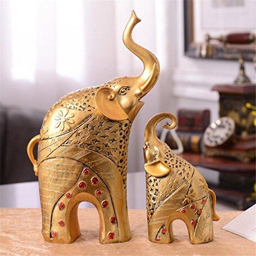lucky-decoracion-de-elefante-madre-y-hijo-como-adornos-resina-crafts-salon-tv-gabinete-muebles-de-of