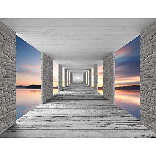 Fototapete 3D Sonnenuntergang 396 x 280 cm Vlies Wand Tapete Wohnzimmer Schlafzimmer Büro Flur Dekoration Wandbilder XXL Moderne Wanddeko - 100{eb2978fa54a57921c38a53b6a5b1a063dbd4acbc9148ec8a3e10e4c5f2180a0f} MADE IN GERMANY - Runa Tapeten 9157012b
