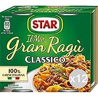 Set 12 STAR Salsa Salsa De Gran 180X2 Salsa De Carne Para La Pasta