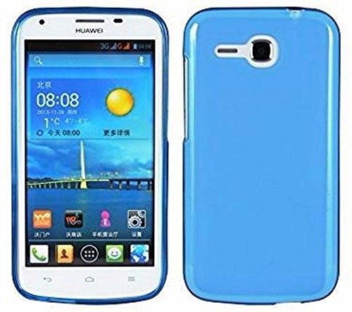 TBOC® Hellblau Gel TPU Hülle für Huawei Ascend Y600 Ultradünn Flexibel Silikonhülle
