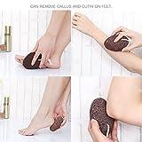 Pietra pomice 2pz cura della pelle dura Remover Foot scrubber