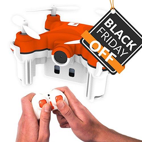 SKEYE Nano 2 Kamera - kleinste Nano Drohne mit HD Video - RC Quadrocopter mit Höhenhalt-Funktion – Kunstflug Fähigkeit