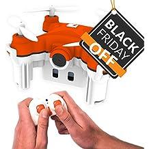 SKEYE Nano 2 Camera - El Nano Drone Más Pequeño con Vídeo HD - Cuadricóptero RC con Mantenimiento de Altitud - Capacidad de Acrobacias