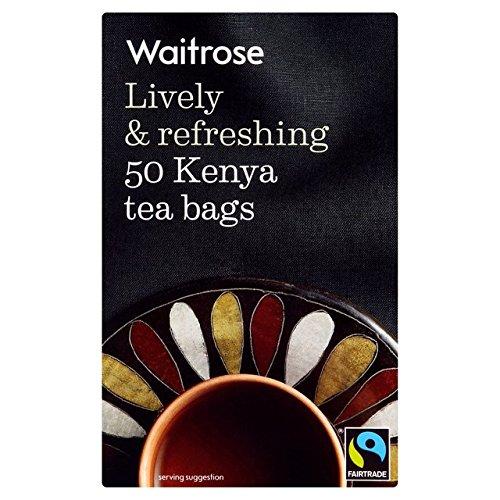 50Messe von Kenia Teebeutel Waitrose 50pro Packung